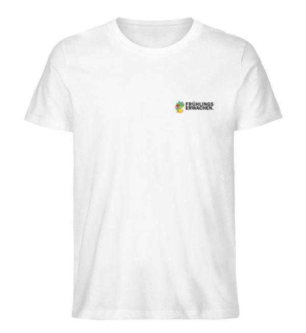 T-Shirt - Frühlingserwachen - Herren Premium Organic Shirt-3